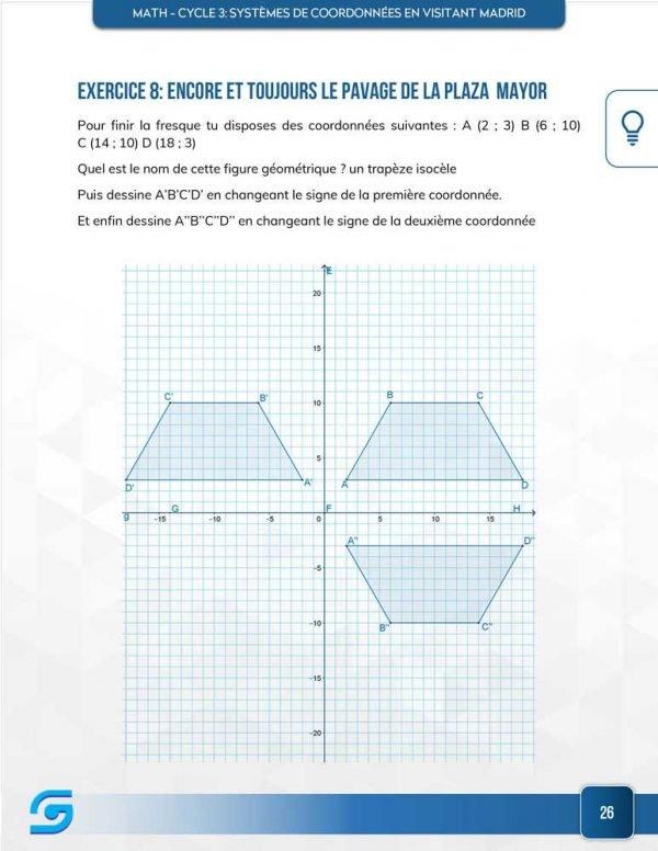 Systèmes de coordonnées Exercice 2